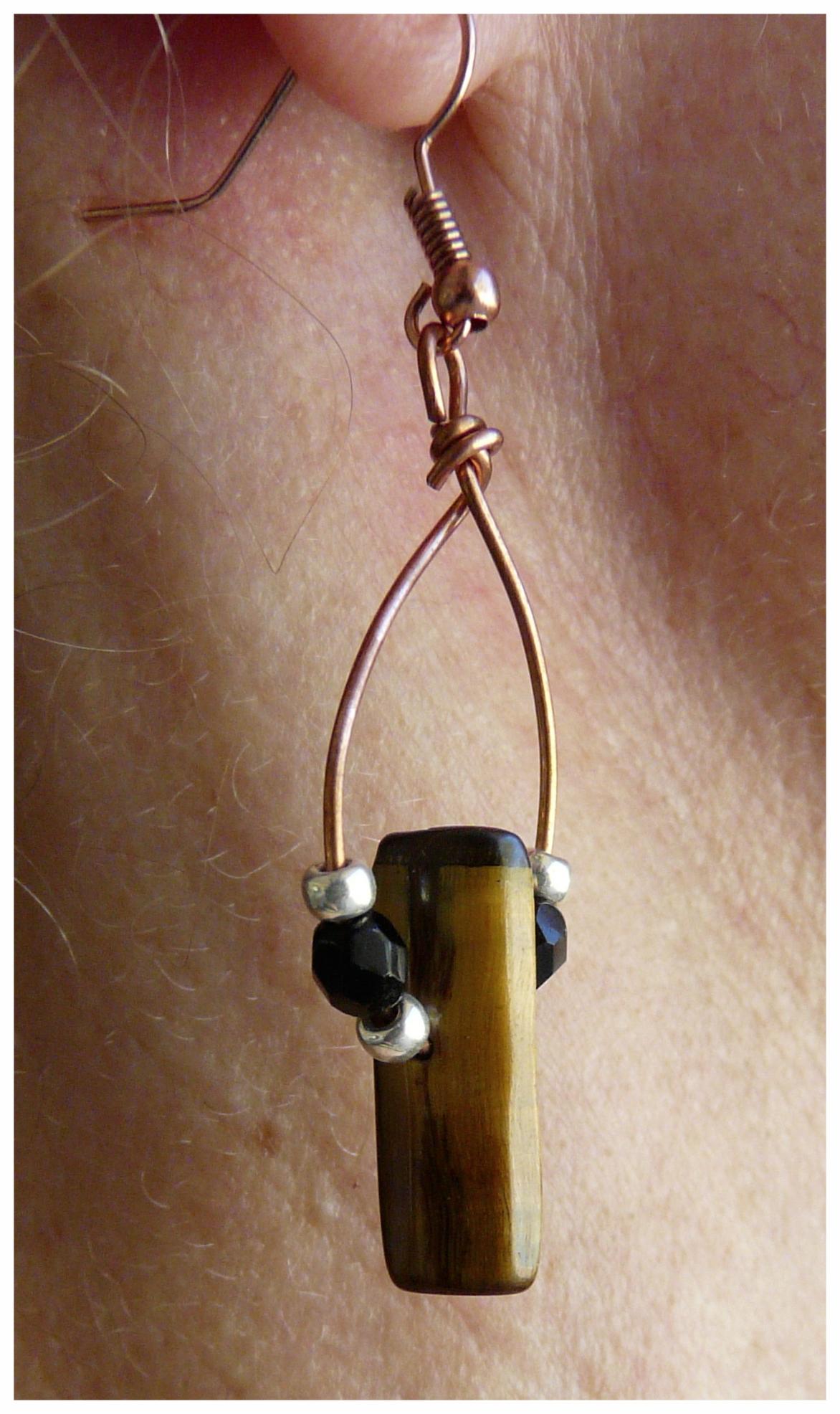 Agate Slab Earrings