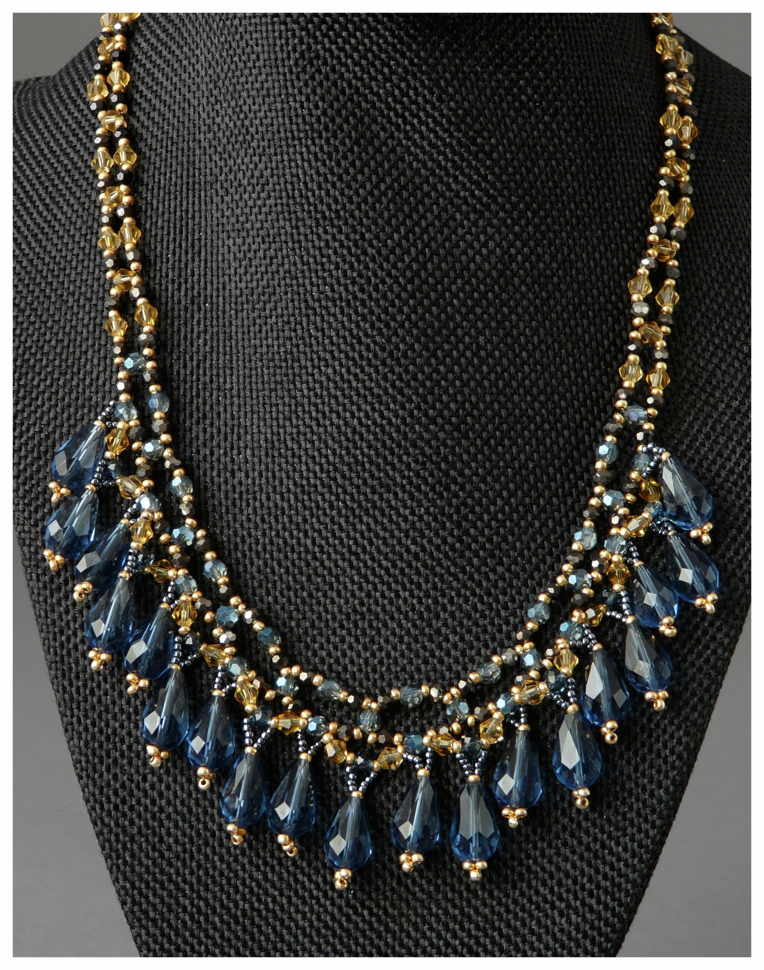 Vintage Drops Necklace