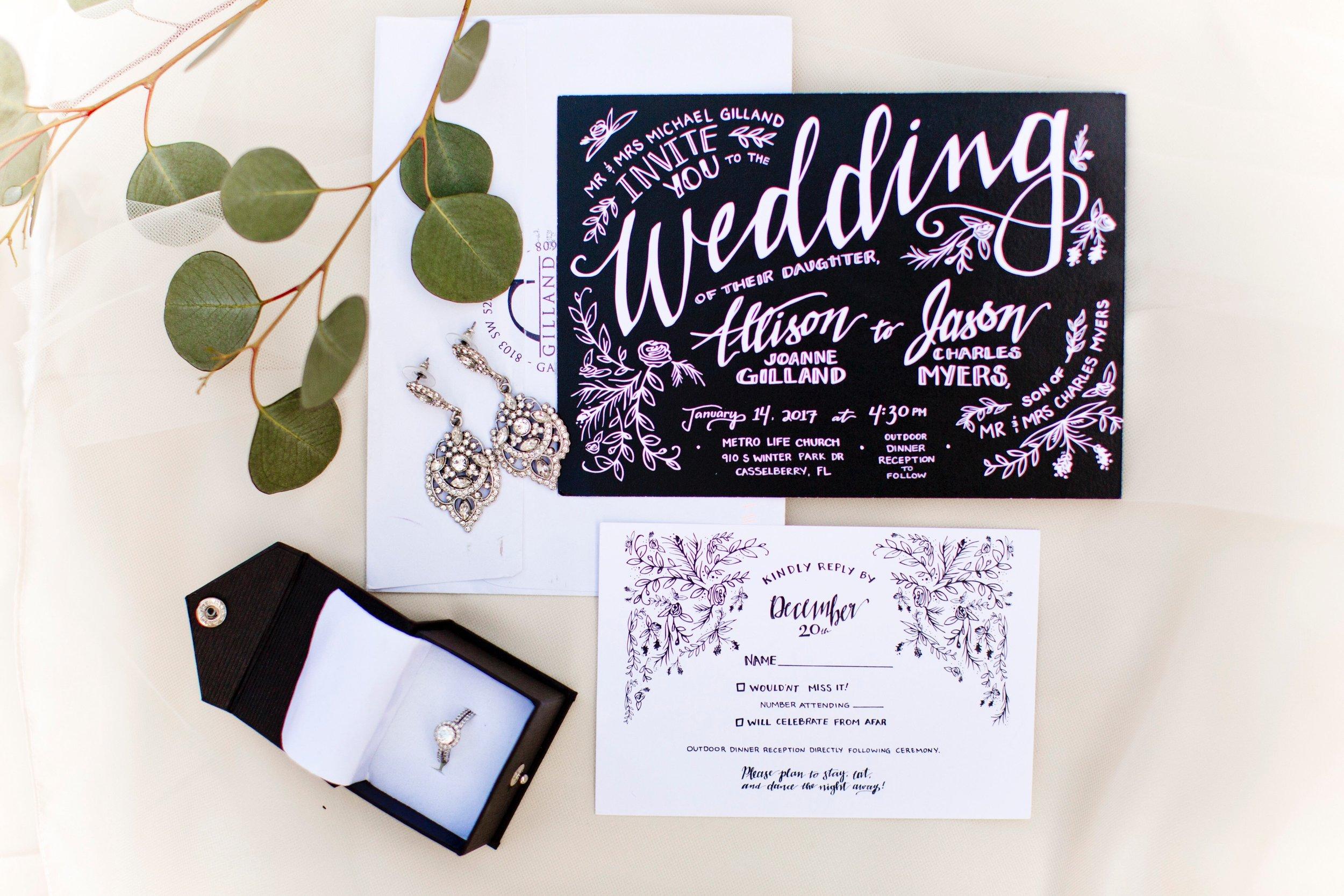 Custom Wedding Invitations & Rsvps