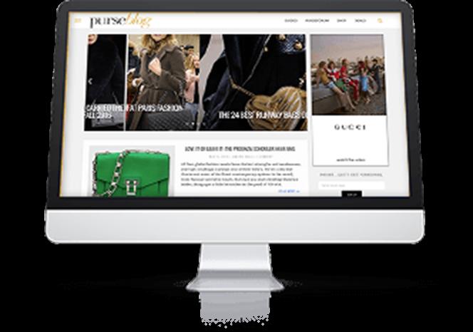 «eBay nos acompaña desde el principio de esta aventura y ha sido una compañía perfecta».    Shannon Mahoney Director of Operations   PurseBlog.com