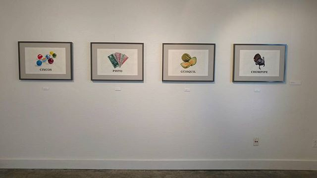 One more week to check out Under Construction,  the graduate residency show in Kittredge Gallery! It will be up until this Saturday, September 24, so don't miss your chance to see my prints! #art #artresidency #printmaking #screenprinting #digitalprint #españolchapinlandia