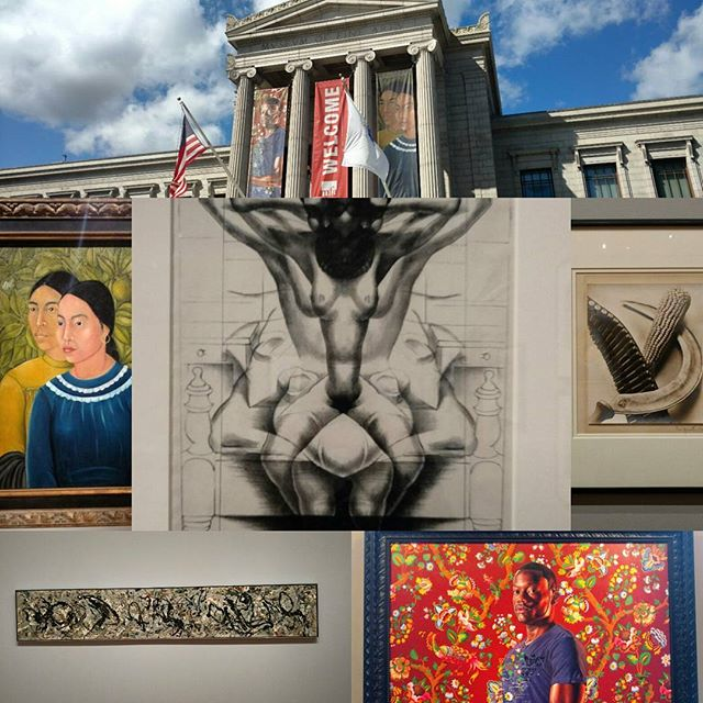 You never disappoint @mfaboston . The fact that you had pieces by Frida Kahlo, Georgia O'Keeffe, Kehinde Wiley, Kerry J Marshall, Tina Modotti, Diego Rivera, Jackson Pollock, Ai Wei Wei, and so many more, all at once made me so incredibly happy. An amazing experience and always a pleasure to visit. #art #museum #boston #artists #artnerd