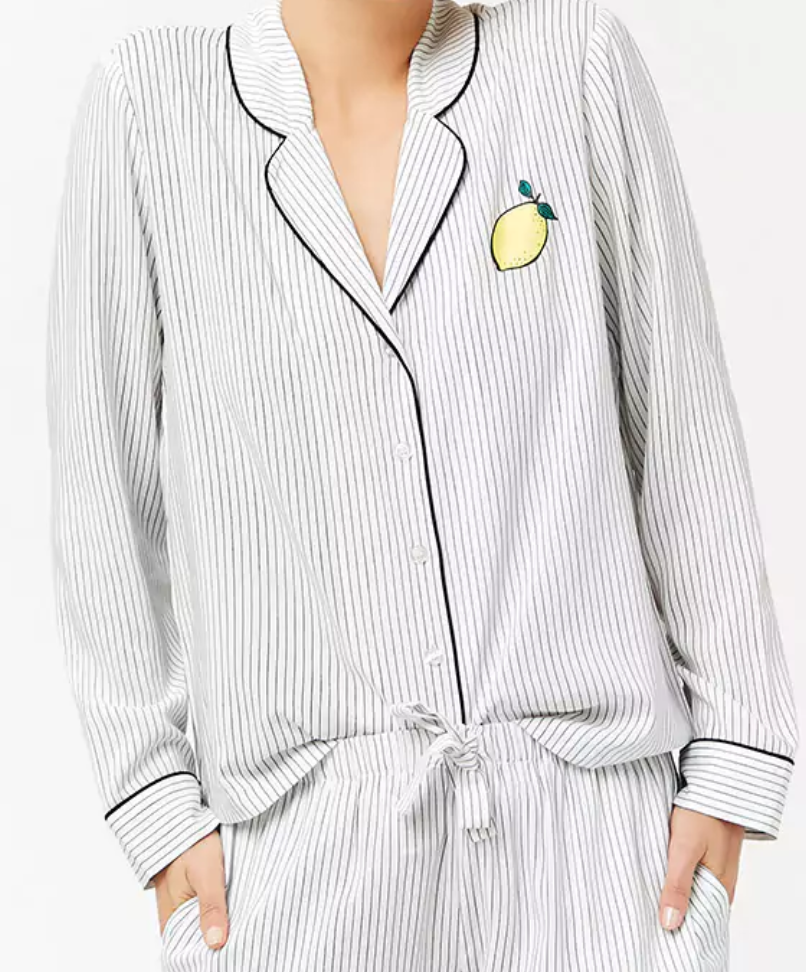 3. Button down PJs and Shirts
