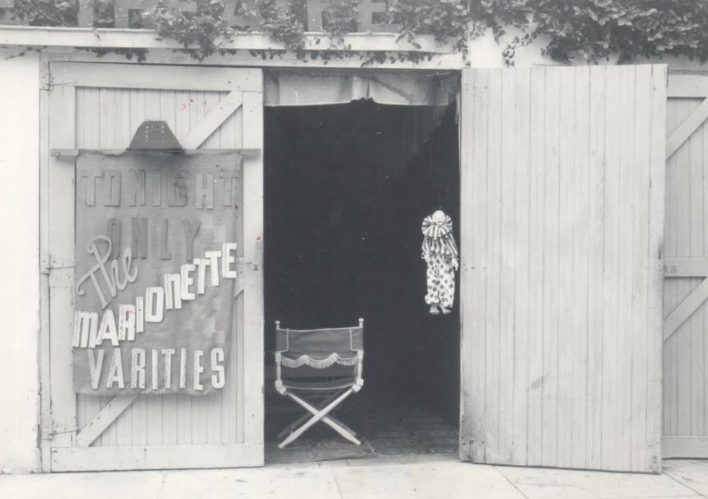 """Bob Baker's """"Petite Theater,"""" which existed before well before the Bob Baker Marionette Theater at 1345 W 1st Street in downtown Los Angeles."""