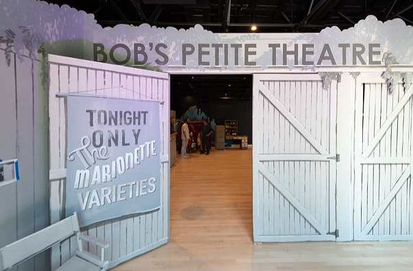 For Bob's Petite Theater at OxyArts, we wanted to honor Bob's original vision- We enlisted help from Bob Breen of Moryork to help us get it just right!