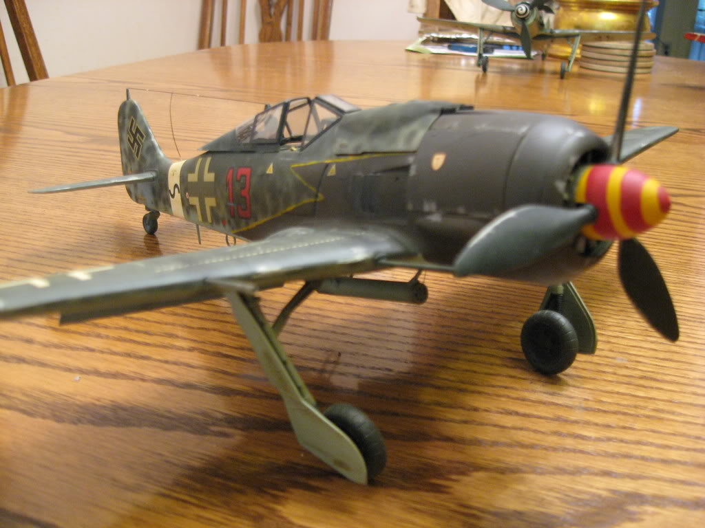 FW-190 A8 old tool 1/32nd scale - conversion. Photo 1 of 3.