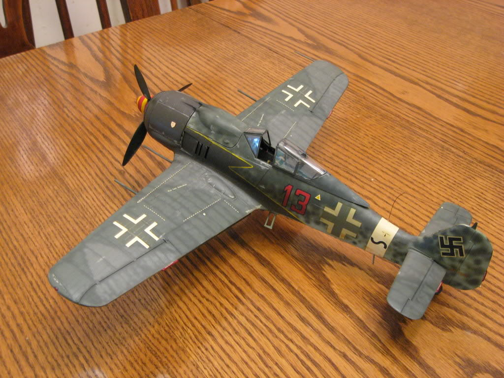 FW-190 A8 old tool 1/32nd scale - conversion. Photo 2 of 3.
