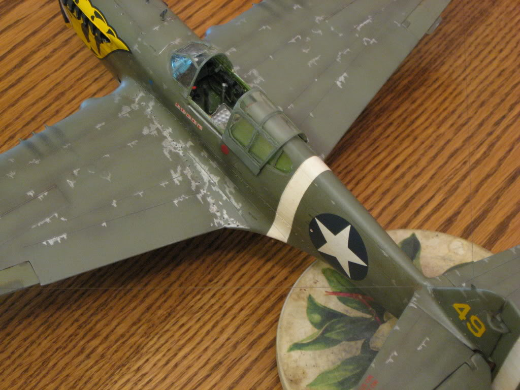 P-40E 1/32 scale. Photo 3 of 5.