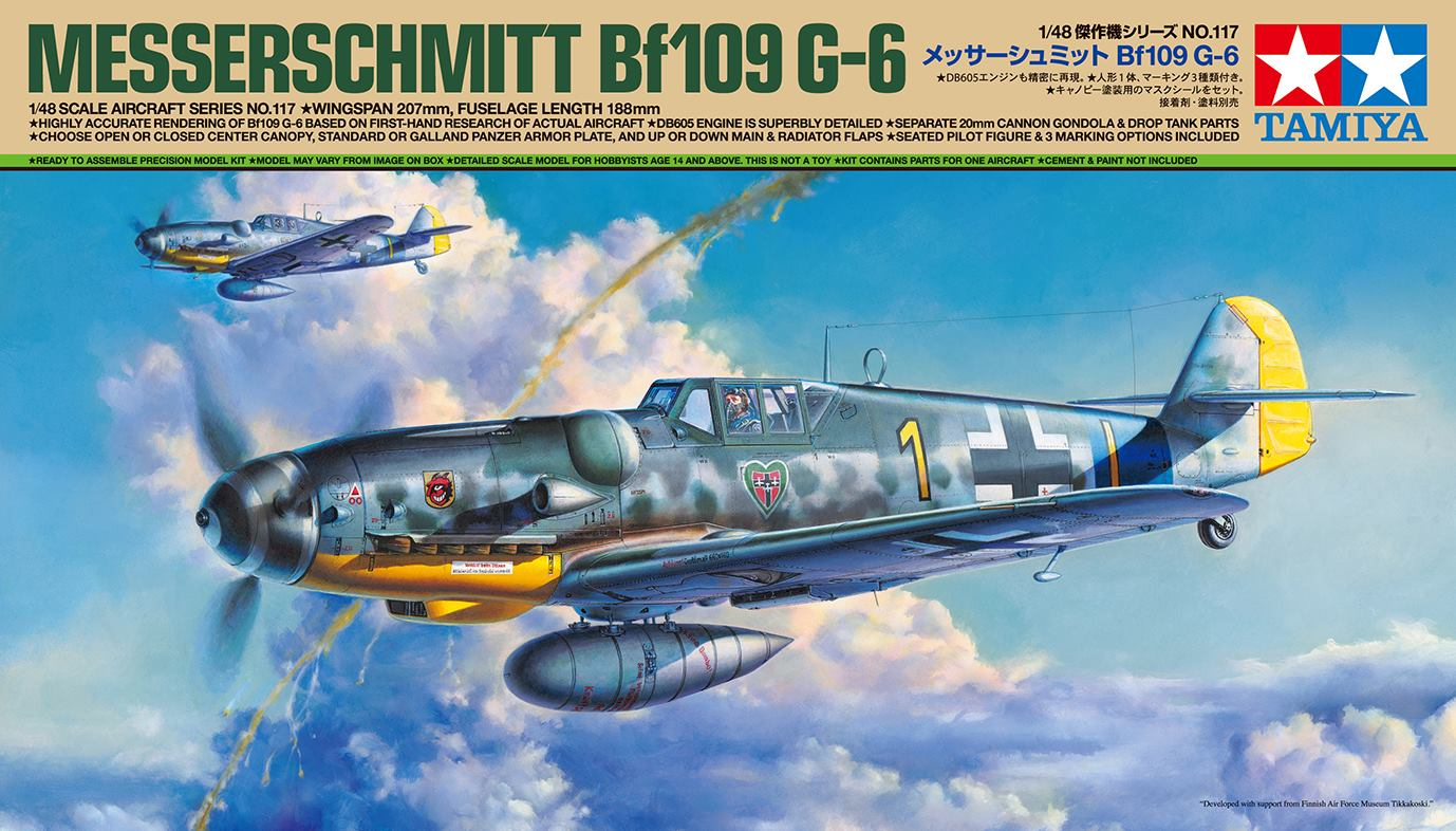 TAMIYA 1-48 Messerschmitt Bf 109 G-6.jpg