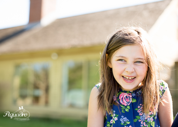Five Year Old Portrait