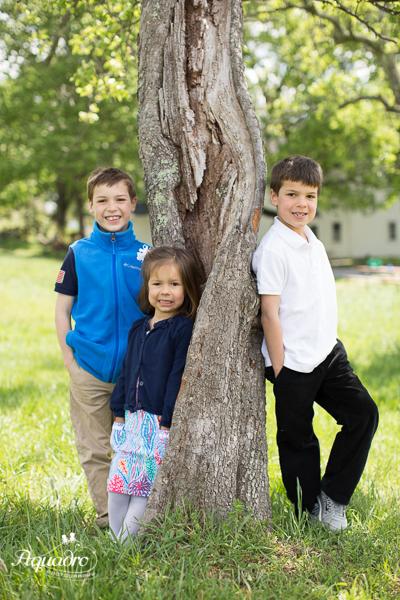 Three by the Apple Tree