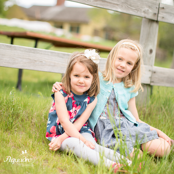 Sisters in Dresses
