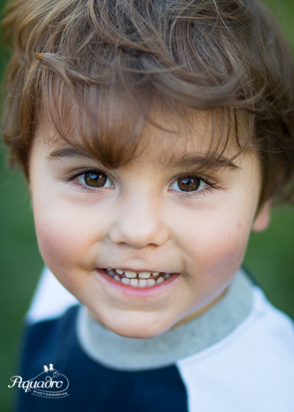 Boy with Brown Eyes