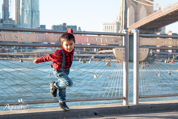 Brooklyn Bridge Pose