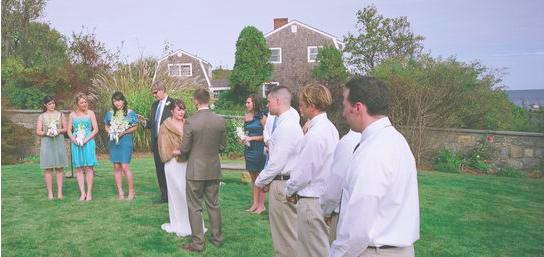 Wedding #2 in Rockport, MA (photo by Joseph Prezioso)