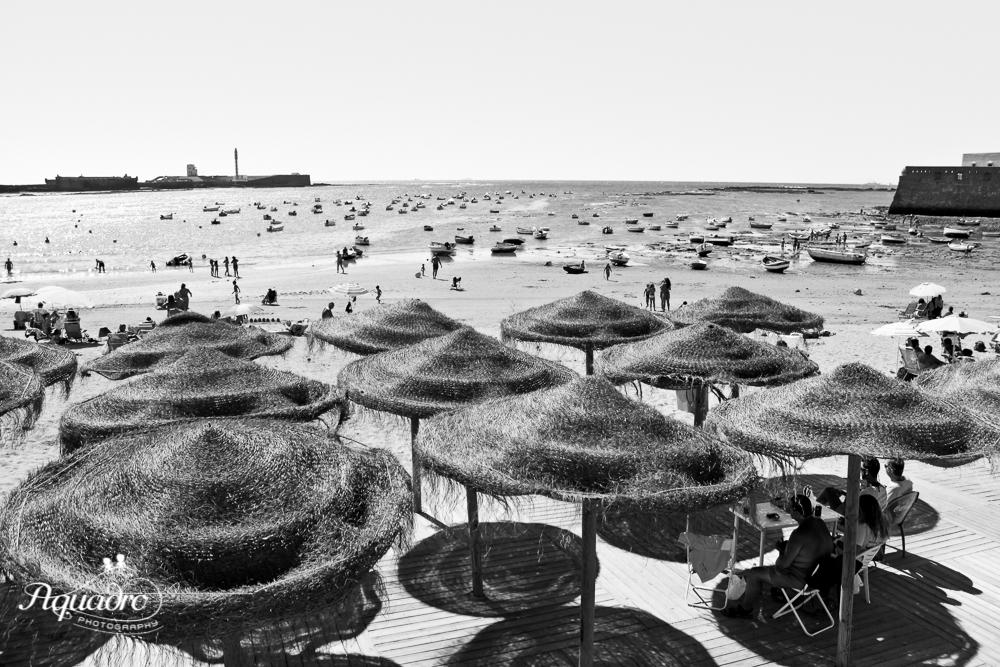 Cadiz Beach Umbrellas