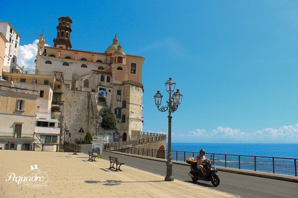 Biking in Amalfi