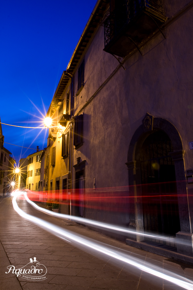 Lights at Night in Spain