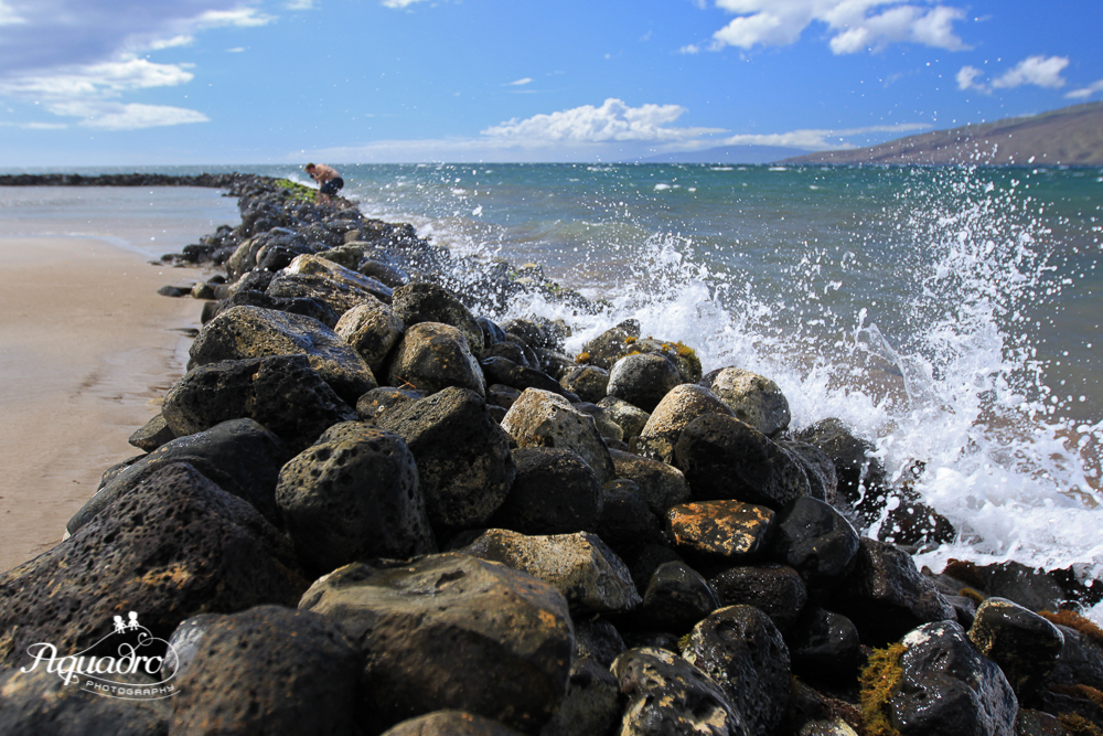Wave Splash in Maui