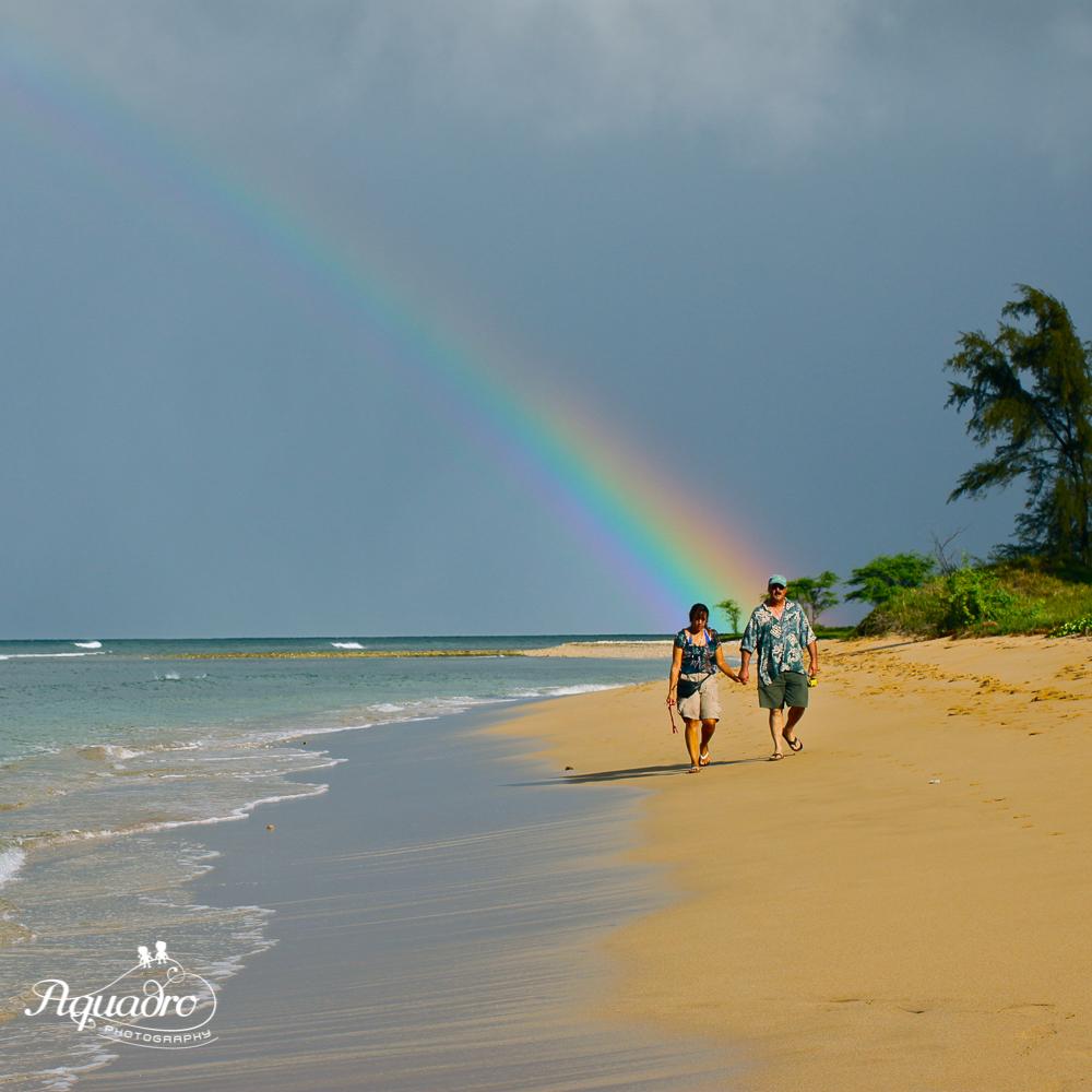 Rainbow Hawaii Beach Walk