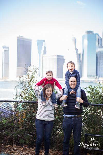 Family Skyline Photo