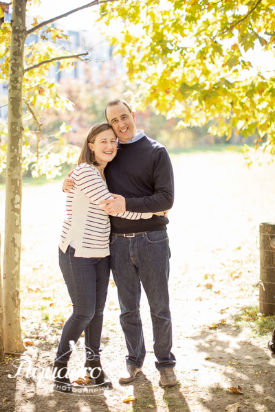 Couple in Fall Light