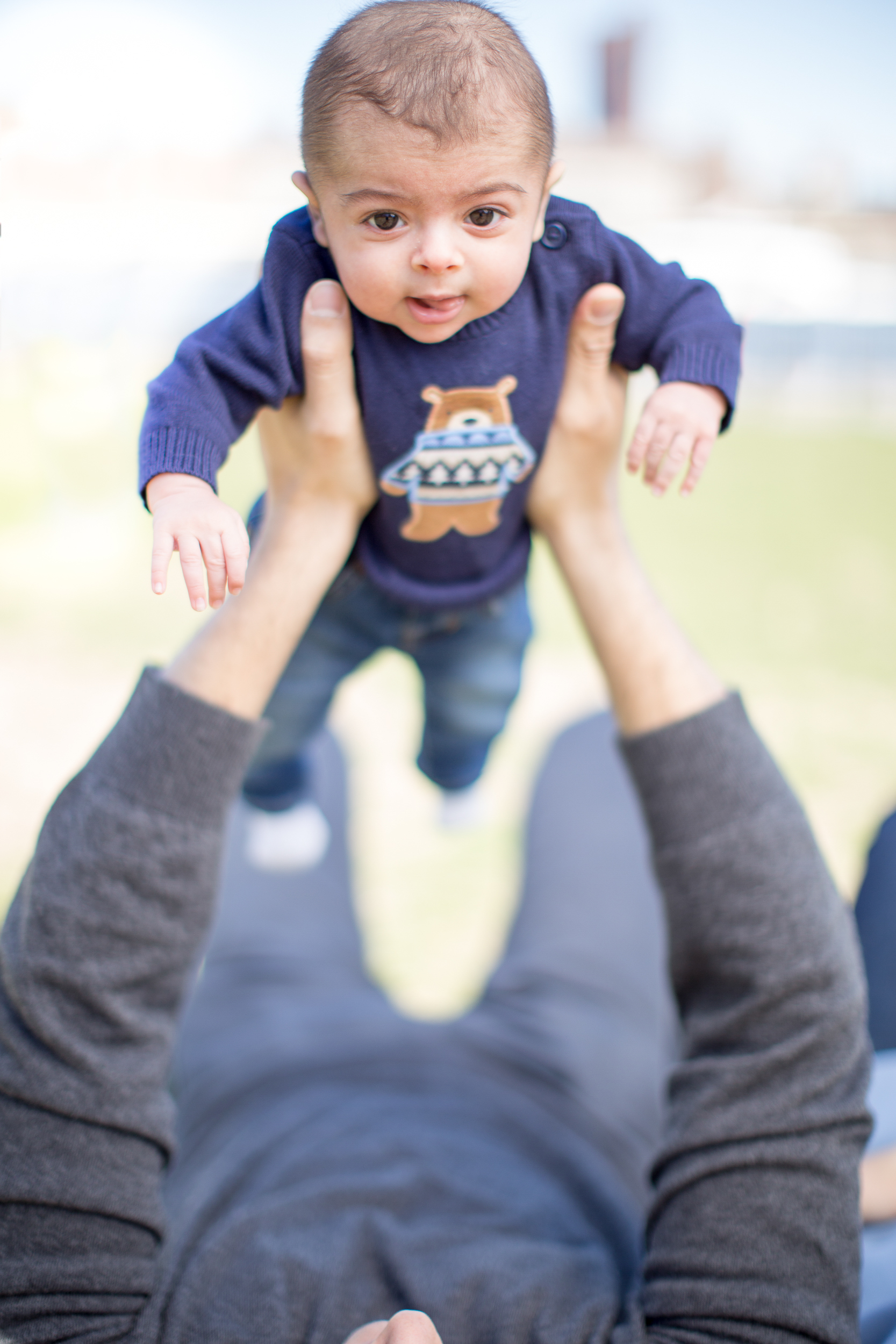 Holding Baby Way Up High