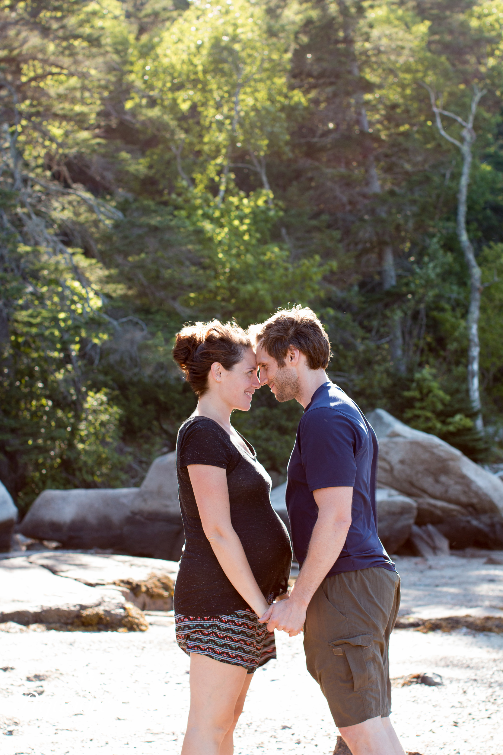 Parents to Be in Acadia