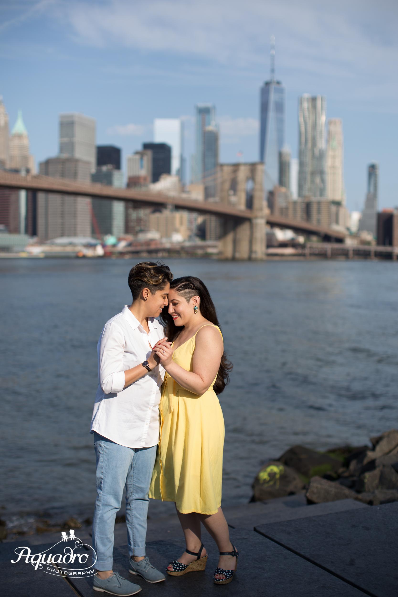 NYC Skyline Background