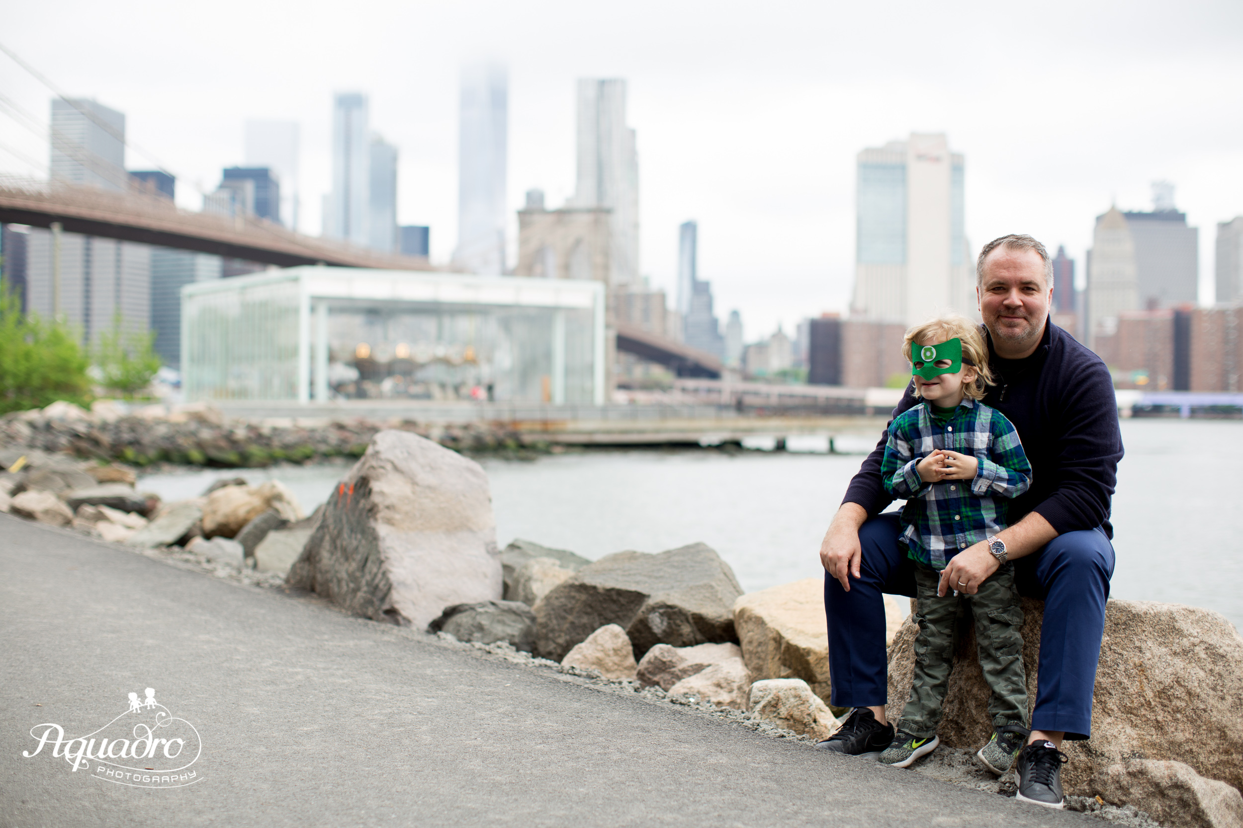 Brooklyn Bridge Park Family