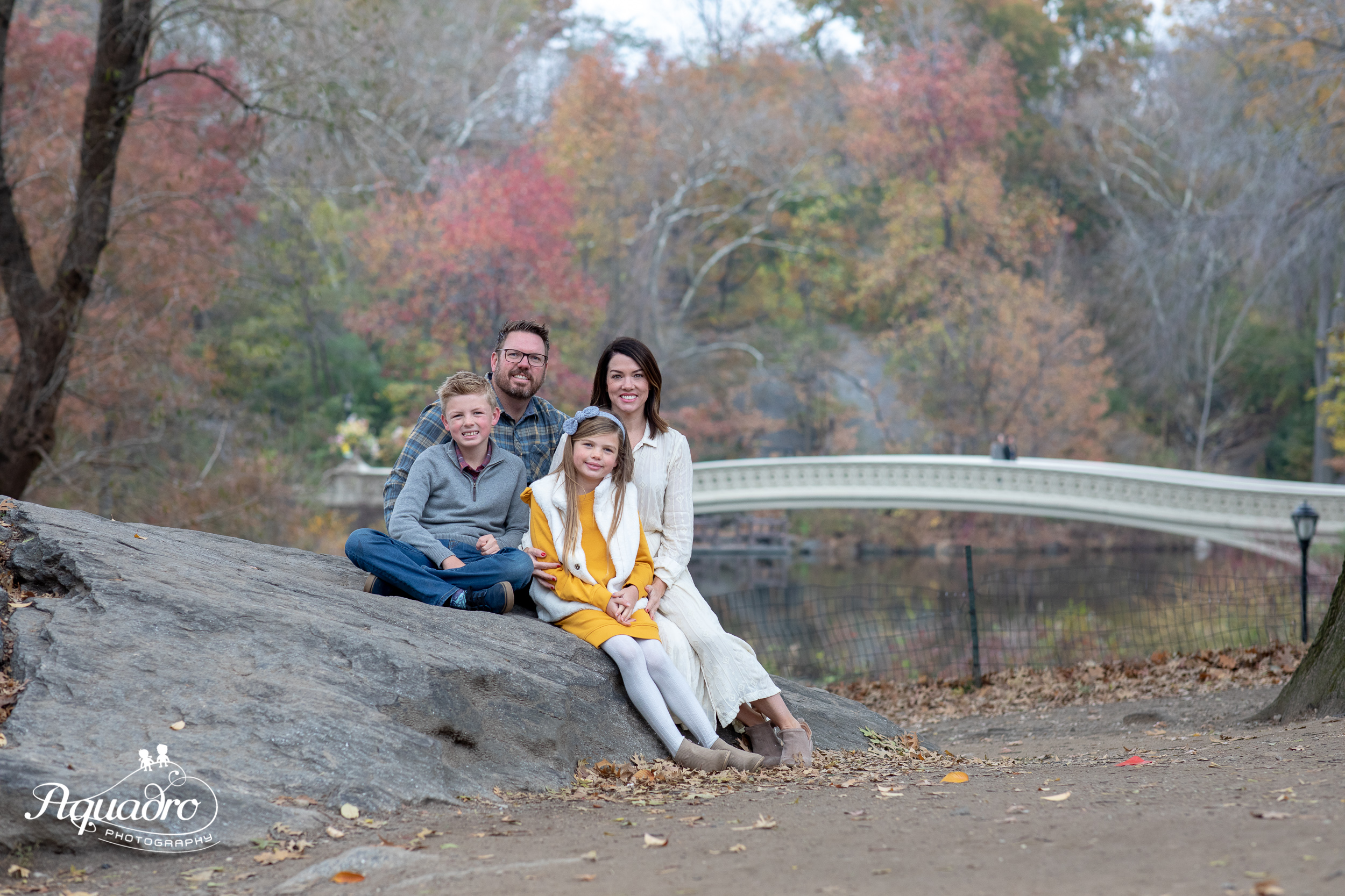 Family Autumn Photos in Central Park