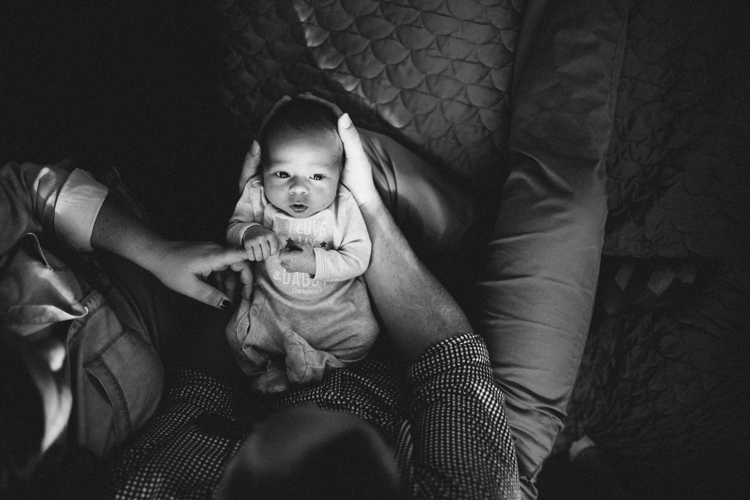 Edmonton Alberta newborn lifestyle photography