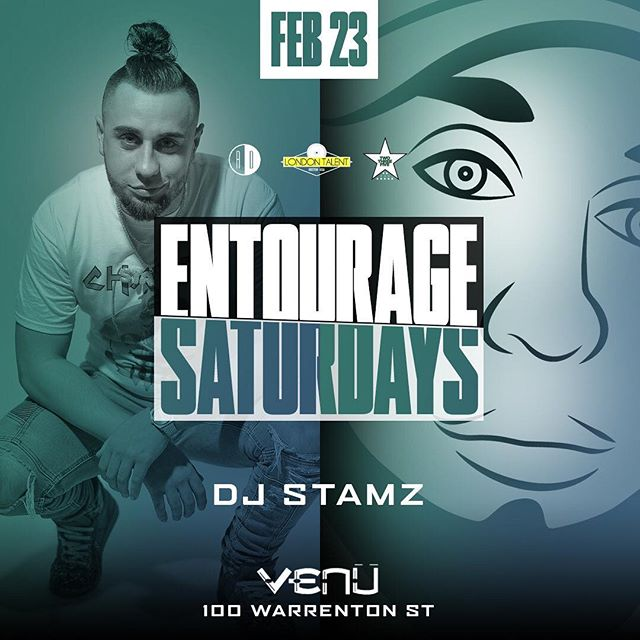 V 💎 E 💎 N 💎 U ➖➖➖➖➖➖➖➖➖➖➖➖➖➖➖ 🚨 PARTY ALERT 🚨 #EntourageSaturdays at @venuboston tonight!🔥 💨 🎦 @235ent 's own @dj_stamz featured in the HIP HOP room!  @djsisko & @djnova take it uptown in the LATIN room 🎵🔥 Tables are going fast 🍾🥂book yours ASAP! Early arrival suggested !  Tables | Guestlist text 📲 978-602-5044 . . . . #SaturdayNight #SaturdayParty #Boston #BostonNights #BostonClubs #BostonParties #235ent #235entertainment #HipHop #Top40 #Latin #LatinTrap #BostonLatinos # 6one7 #Providence #ProvidenceClubs #ProvidenceParties #401 #978 #LawrenceParties #LawrenceNightlife #ProvidenceNightlife