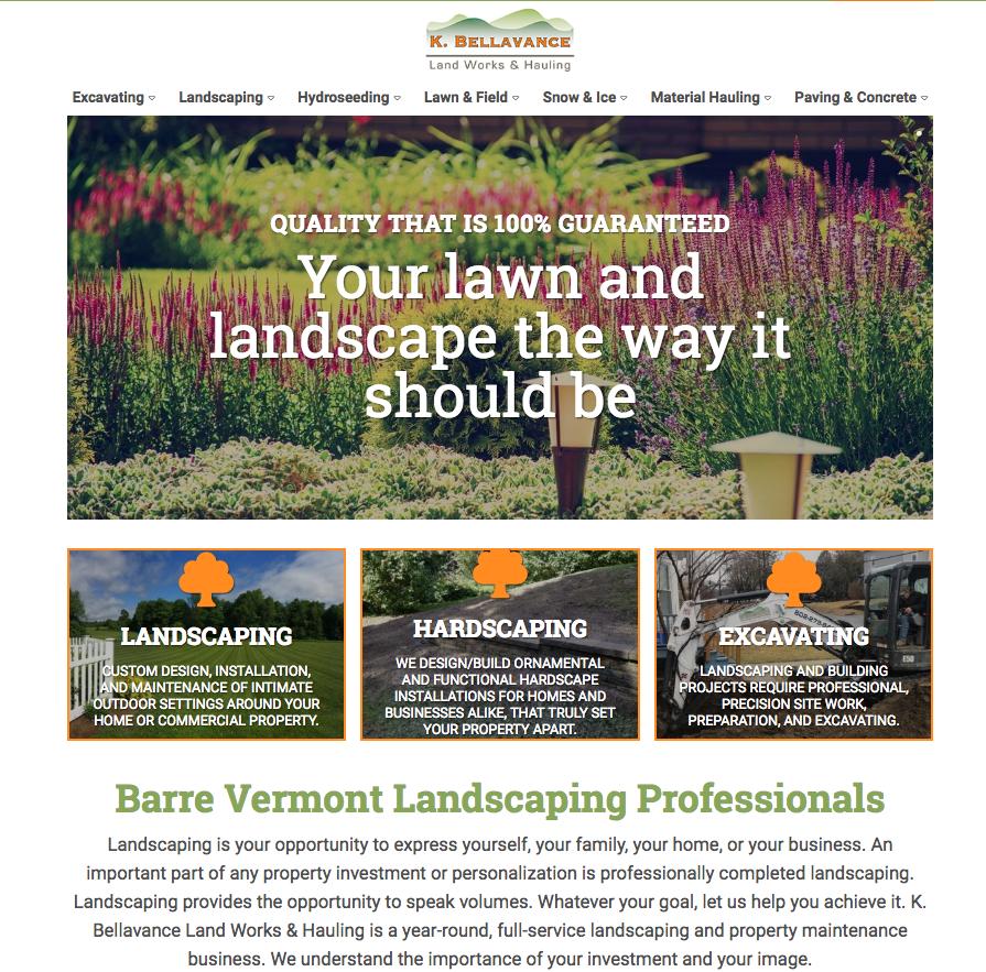 K. Bellavance Land Works & Hauling