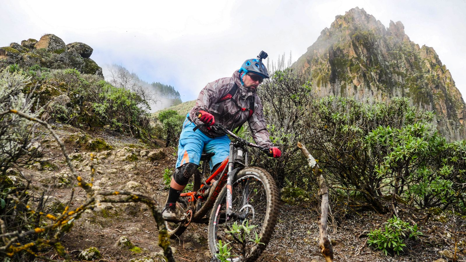 Downhill trails Gran Canaria