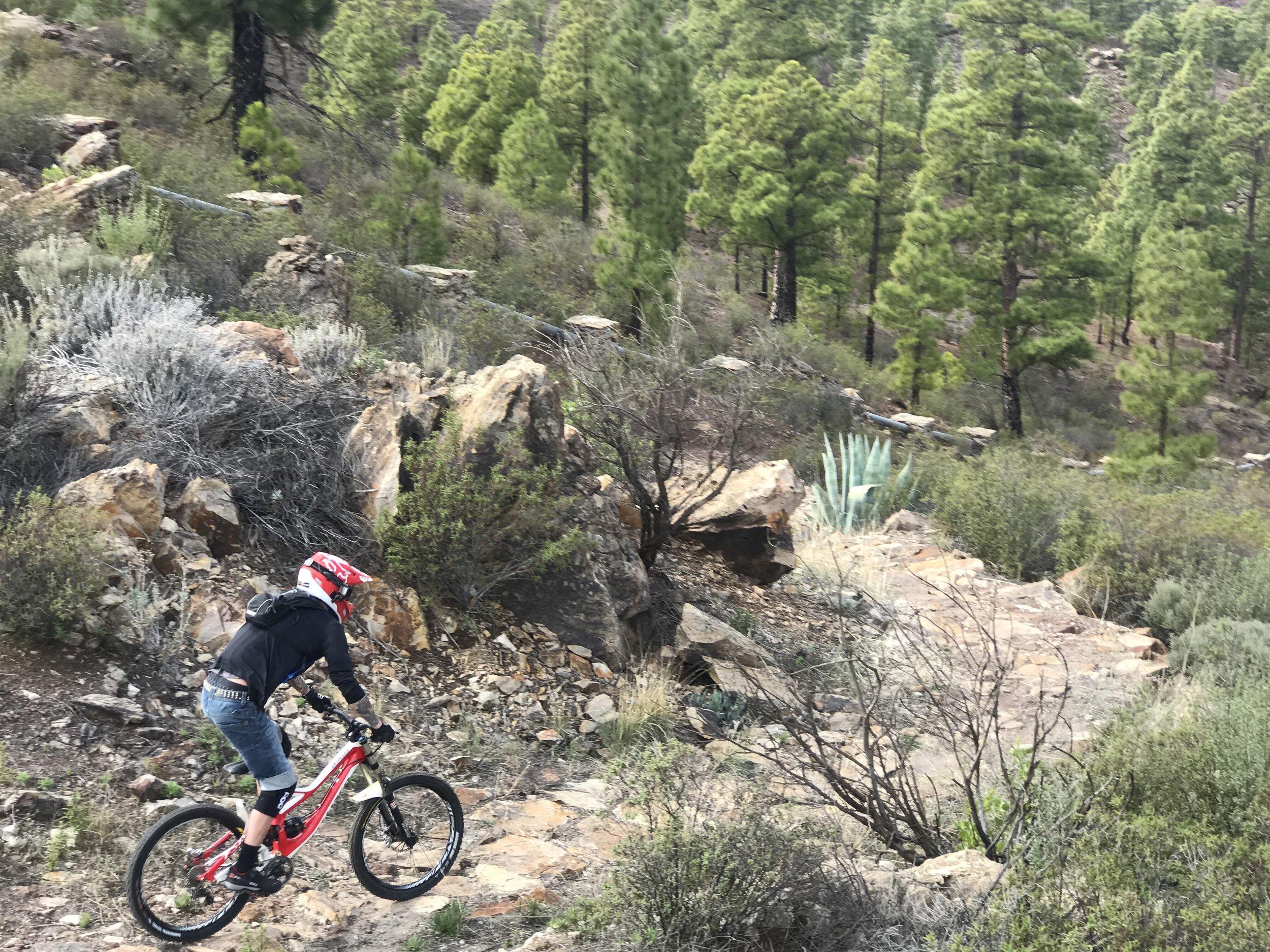 Downhill Gran Canaria