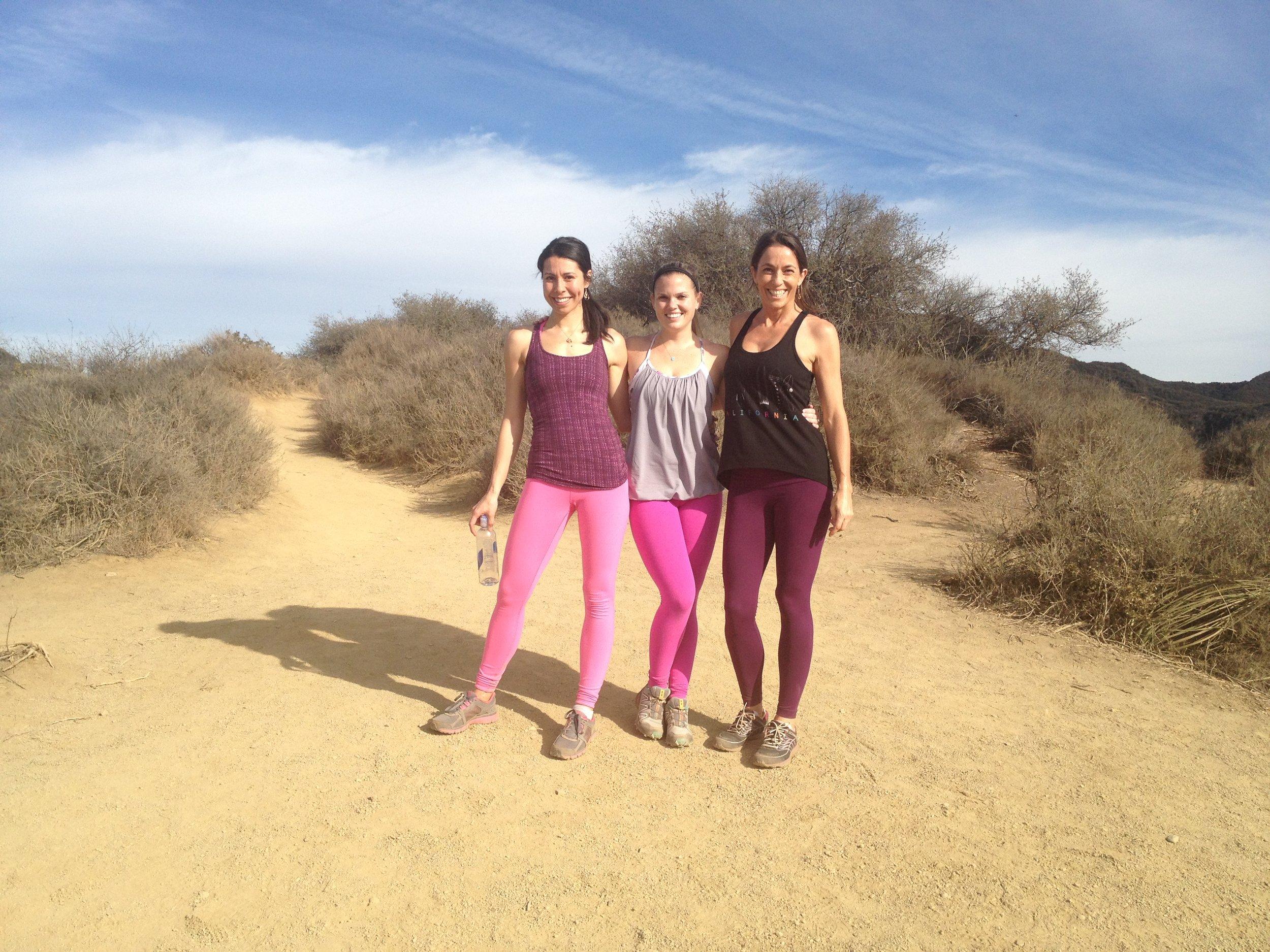 my soul sister Steph and goddess like guru yoga teacher Kia Miller