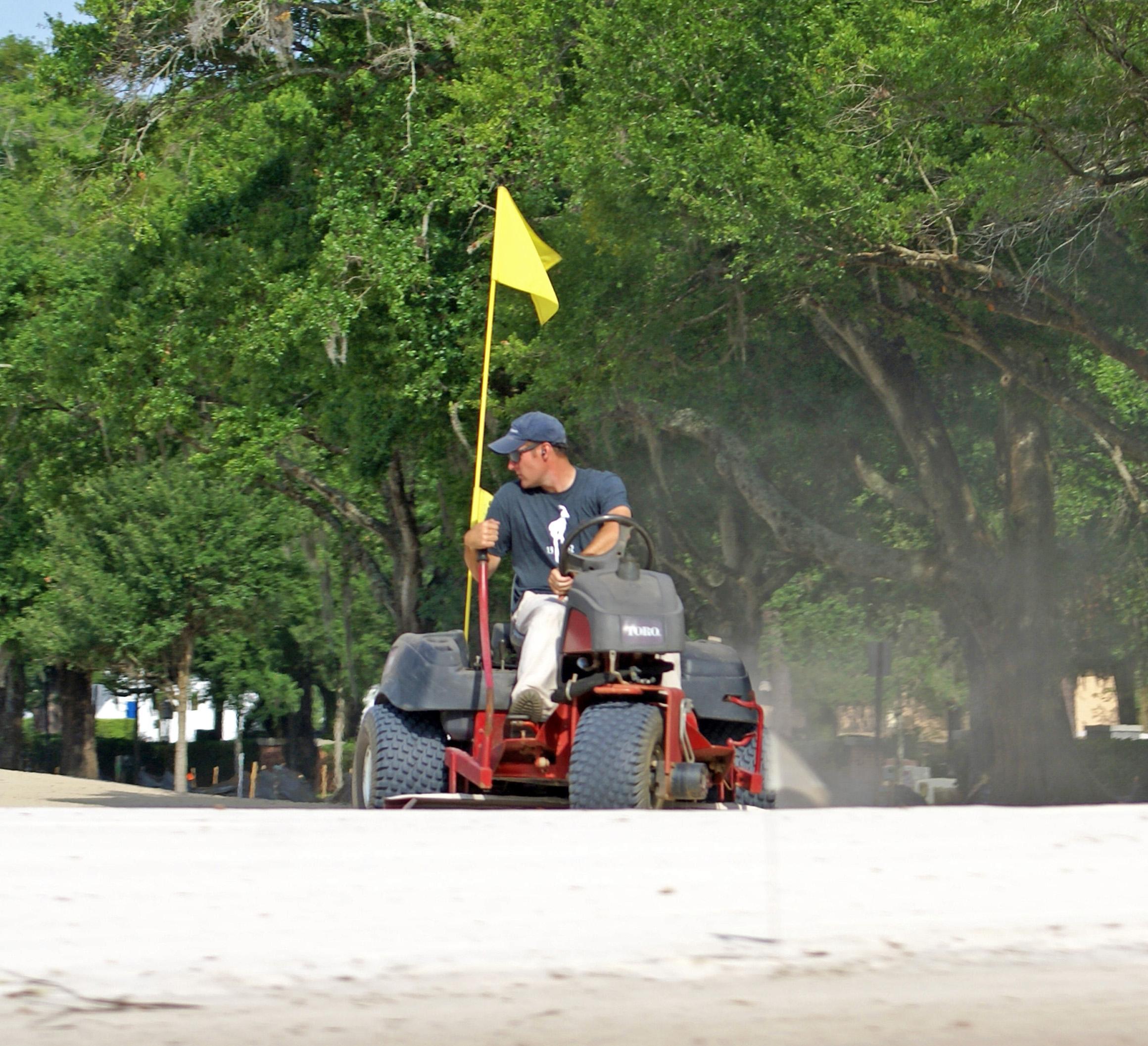 Keith Rhebb - Finish grading No.5 green at Winter Park Golf Course
