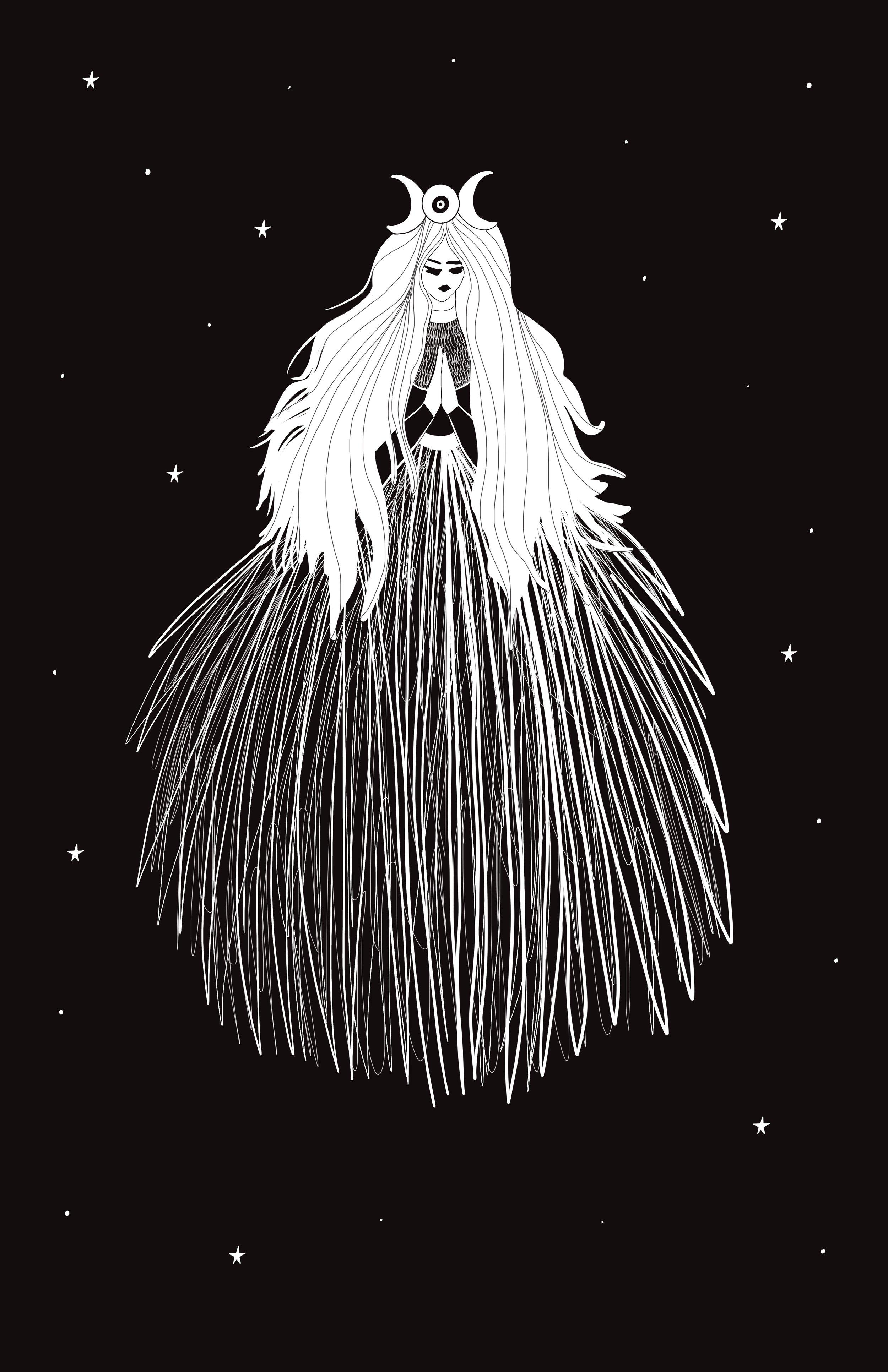 II- The High Priestess