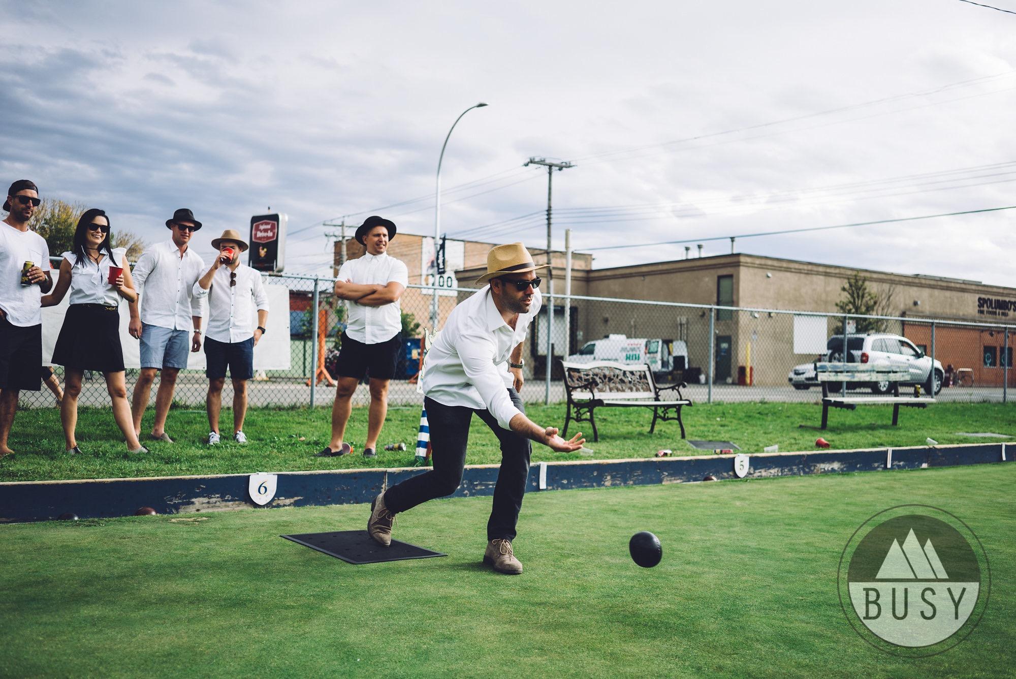 - Lawn Bowling Tournament
