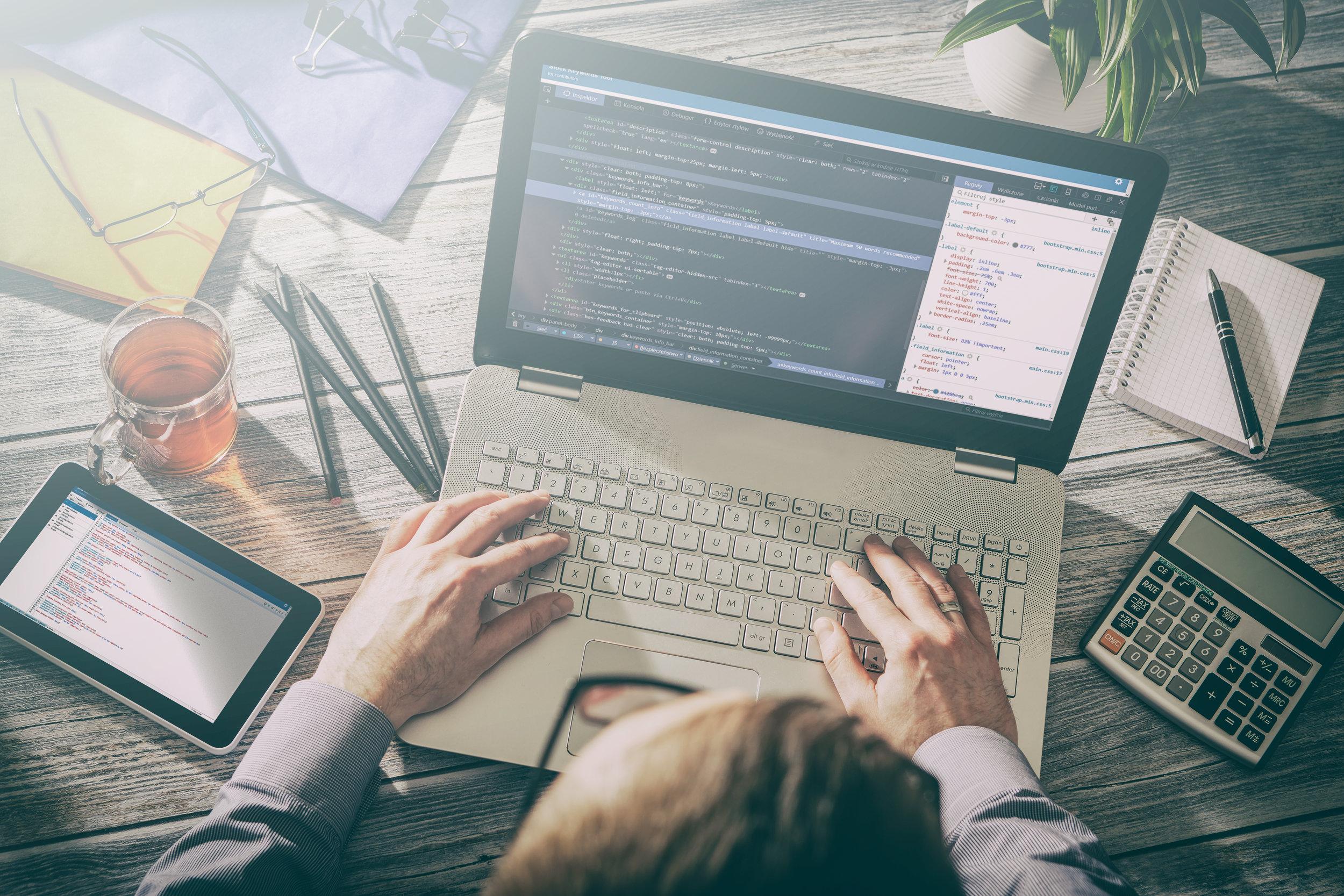 Custom Application Development -