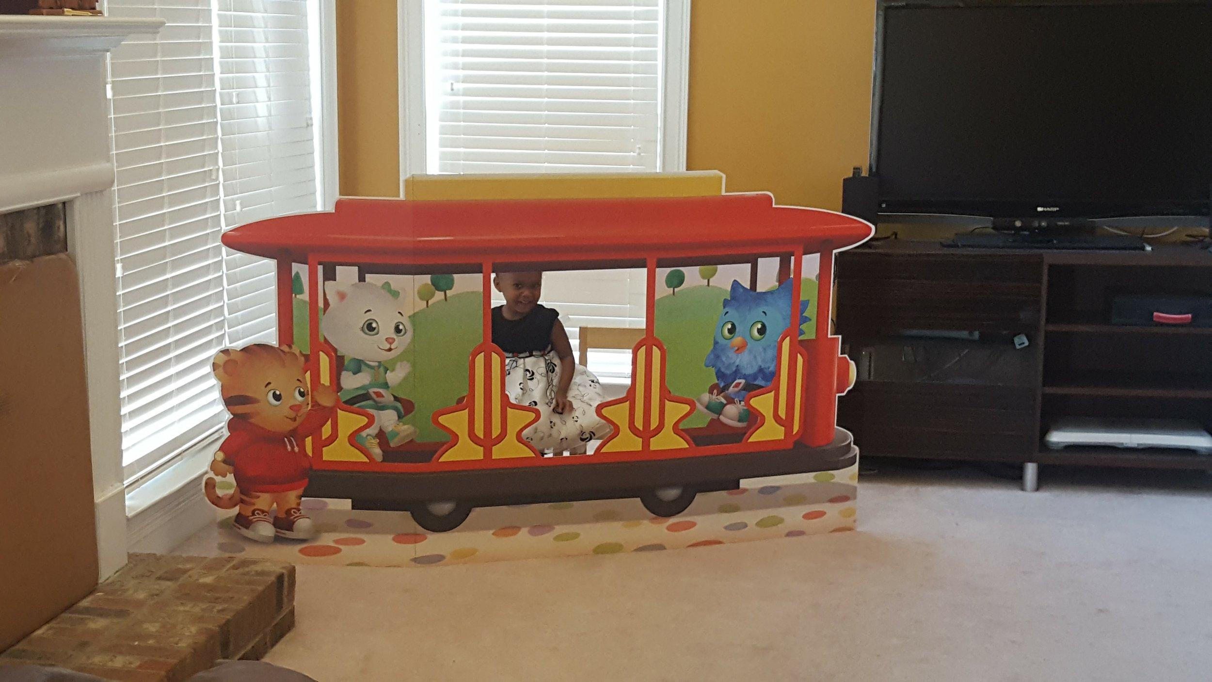 Cardboard Trolley