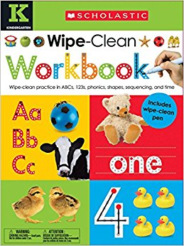 Dry Erase Workbook