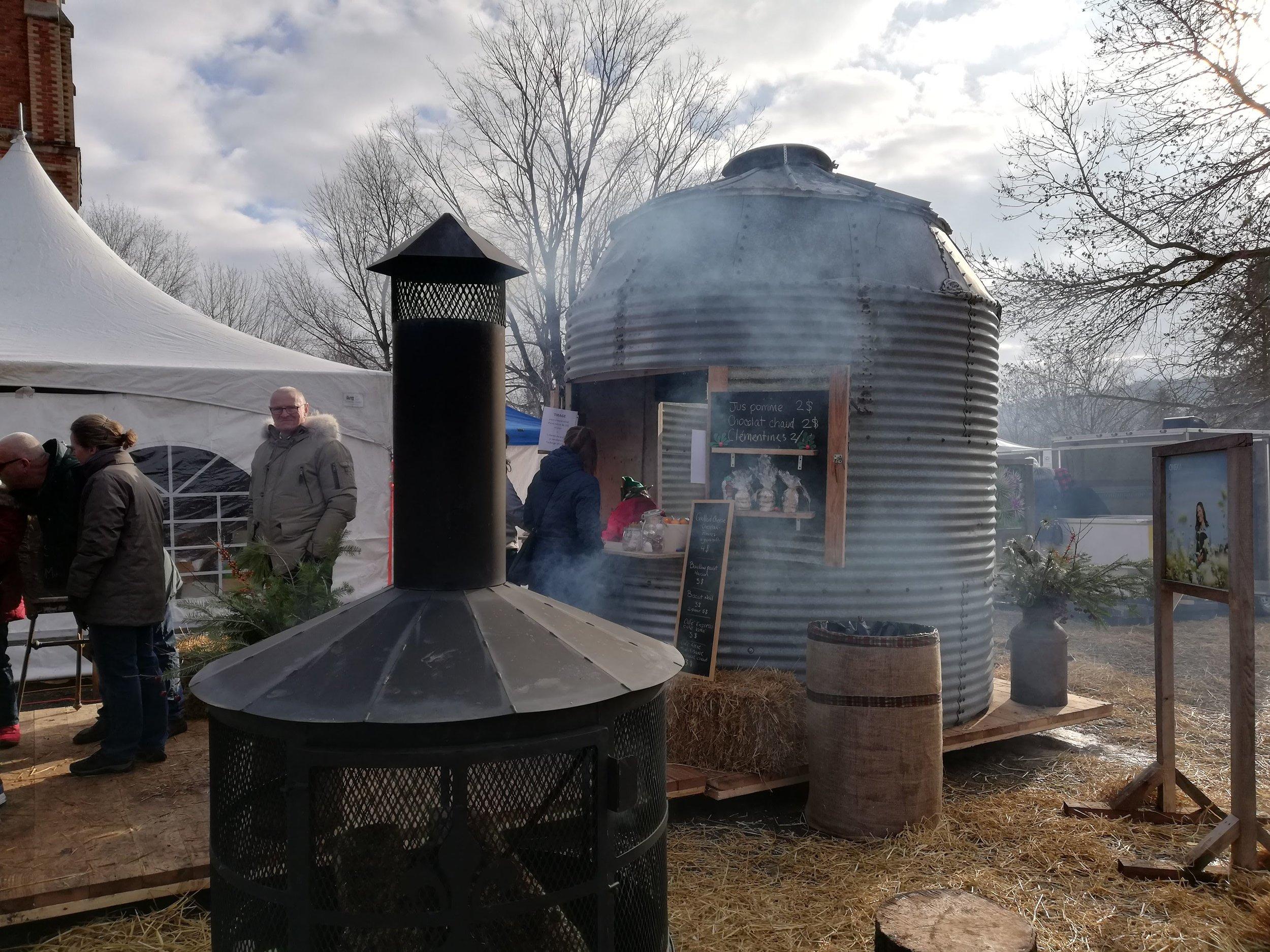 Espace gourmand Oneka (silo à grains réaménagé)