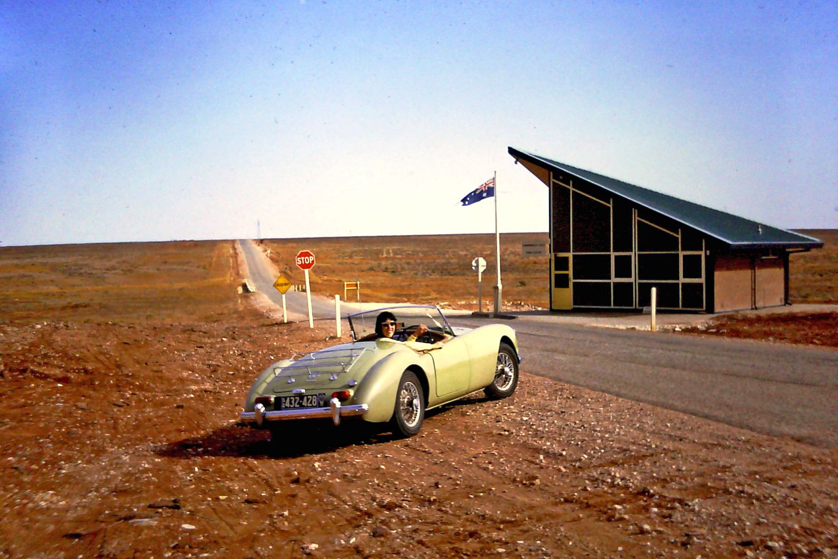 Woomera, South Australia in the 1960s.  Image ©   Pat Delgado