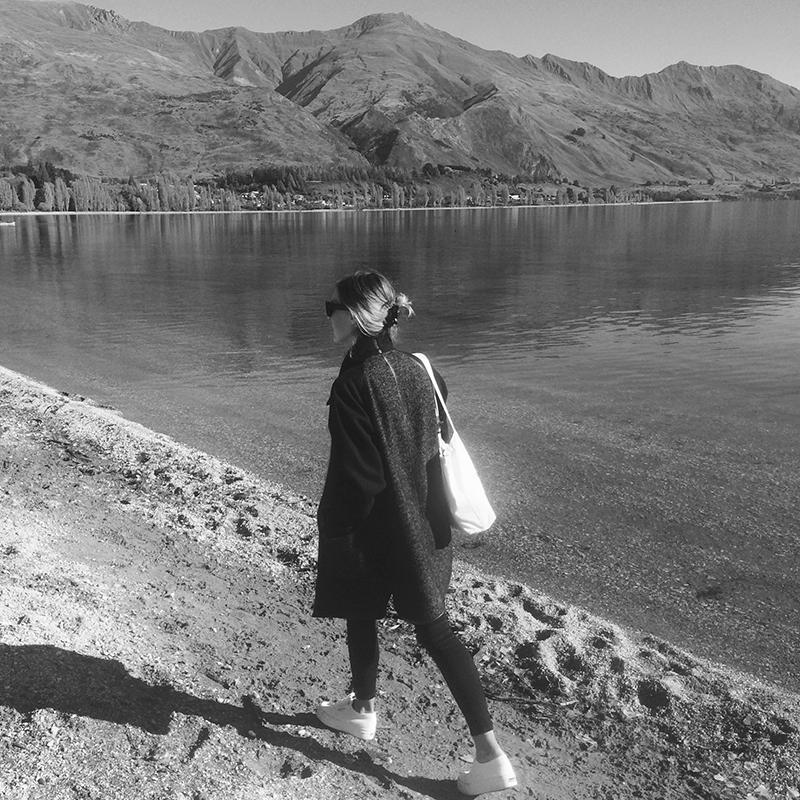 Me, Lake Wanaka, NZ