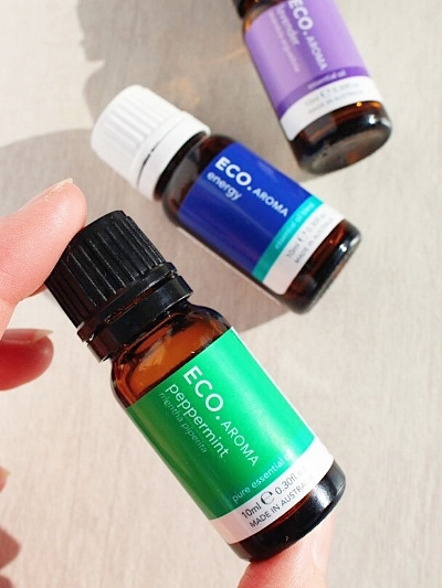 ECO Essential oils - Peppermint, Energy blend & Lavender