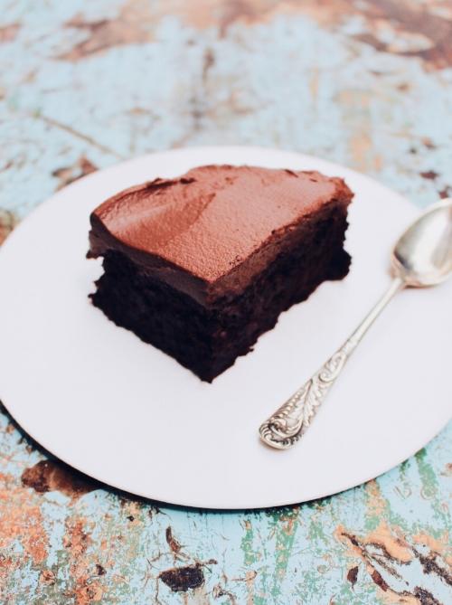 Plant based chocolate cake