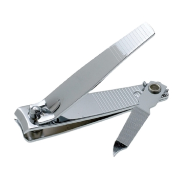 Nail clippers with file