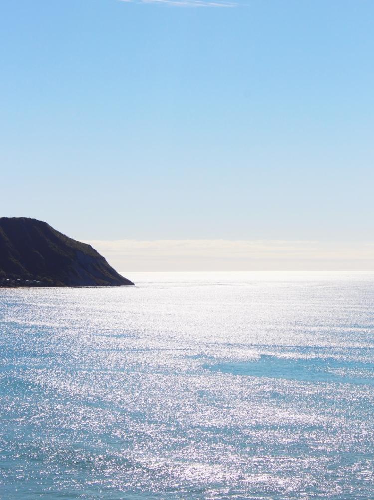 Makorori Beach, New Zealand.